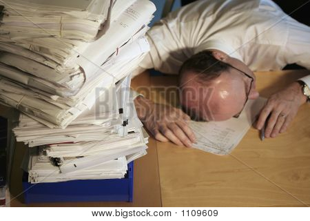 Dying To Do Paperwork
