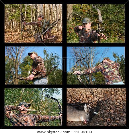 Bow Hunting Collage