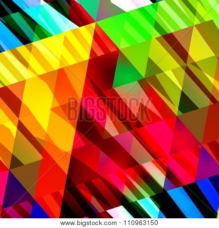 Abstract colorful background texture. Cool chaotic pic. Modern digital art. Flat design element.