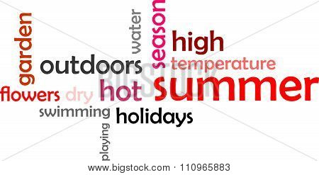 Word Cloud - Summer