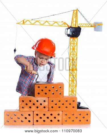 Little builder boy.