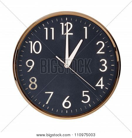 Exactly One Hour On The Clock Face