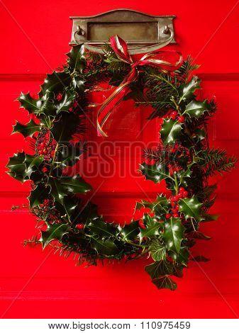 Home-made Christmas Wreath
