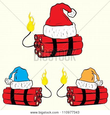 Christmas festive dynamite
