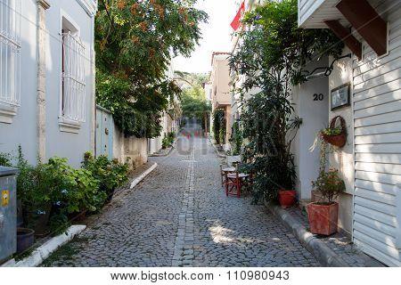 Street Of Bozcaada Island