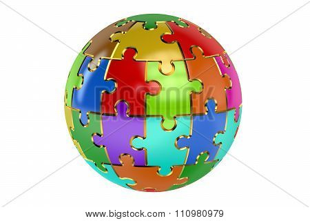 Color Sphere Puzzle