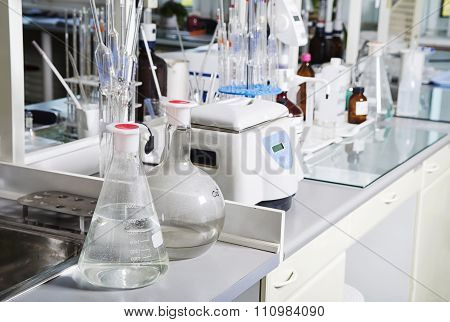 Chemical Laboratory Like Background.