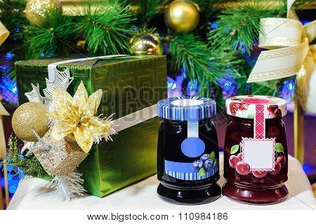 Jars Of Berry Jam