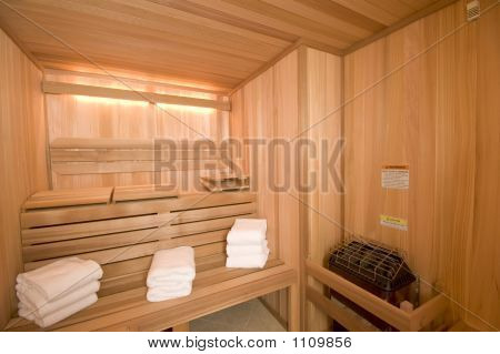 Sauna Custom Built