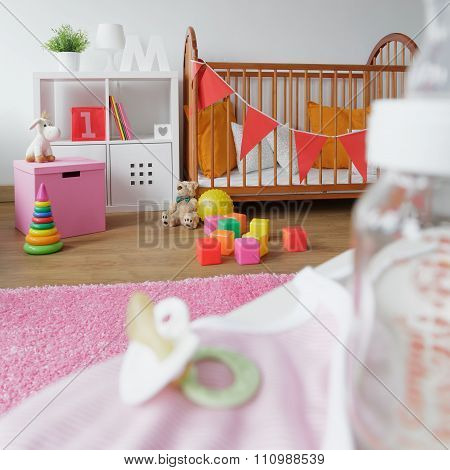 Cosy Space For Newborn Child