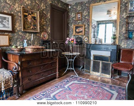 Suzanne Valadon Living Room In Renovated Musee De Montmartre, Paris