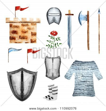 Knight objects collection