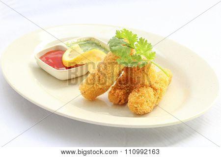 Deep Fried Fish Finger