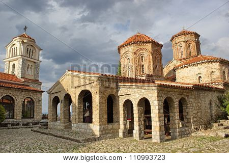 orthodox church of Saint Naum, lake Ohrid, Macedonia