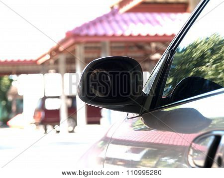 Rearview Mirror ,for The Car To Look Objectively