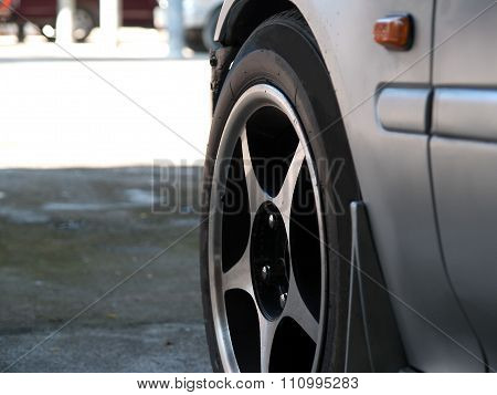 Car Wheel , Parts Car Is Absolutely Necessary