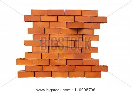 brick in the wall shifted
