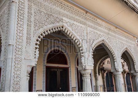 Mubarak Mahal Architecture