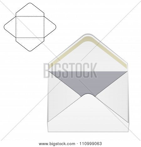 Envelope fold template 1