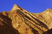 picture of anza  - Anza Borrego Desert view with a blue sky  - JPG