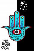 stock photo of hamsa  - Hamsa - JPG