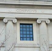 Architectural Detail Of Confucius