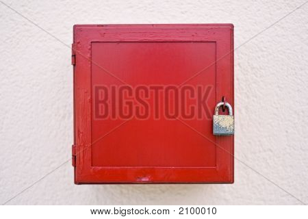 Locked Red Box