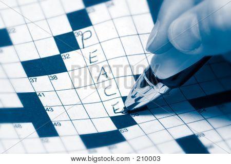 Peace Crossword