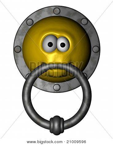Smiley Doorknocker