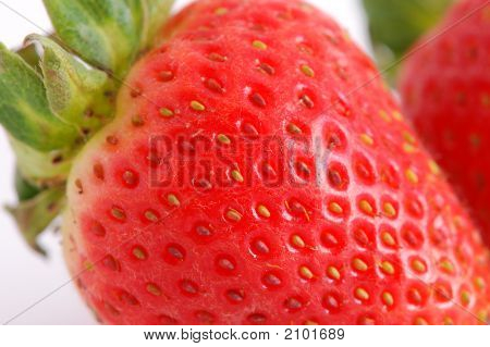 Details Of A Strawberry