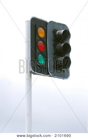 Worn Traffic Lights