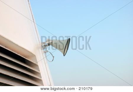 Megaphone On Sky
