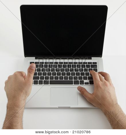 Using Laptop
