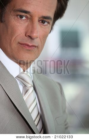 Portrait of successful businessman