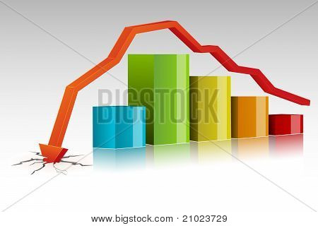 Crashed Bar Graph