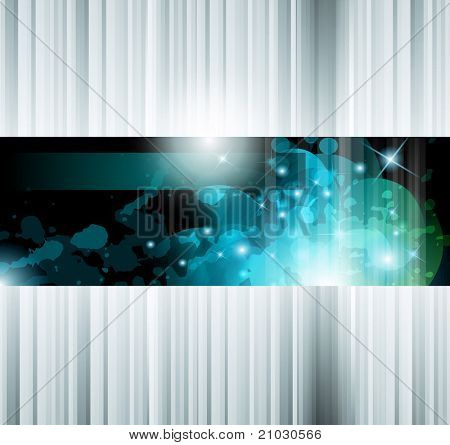 Hitech Abstract Business Background with Abstract Glowing motive to use for corporate presentation flyers or posters