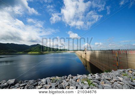Khun Dan Prakan Chol Dam, Nakhon Nayok, Thailand