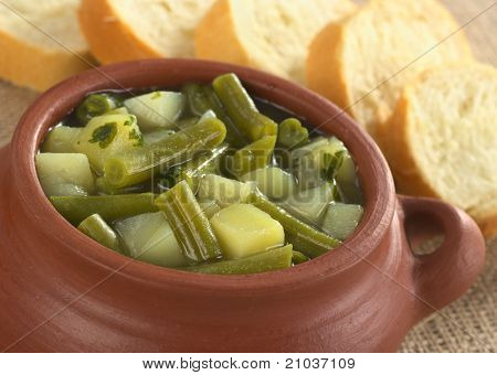 Green Bean and Potato Soup