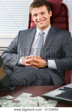 Business Man Relaxing
