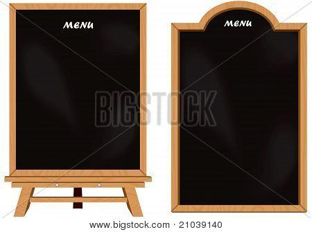 Black board set