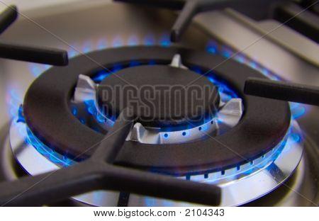 Kitchen Gas Flame