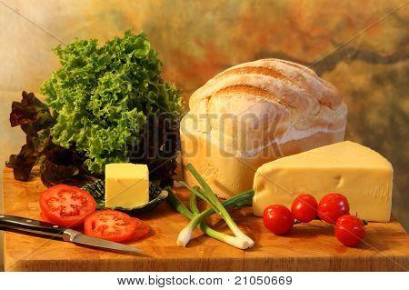 Plowman's lunch