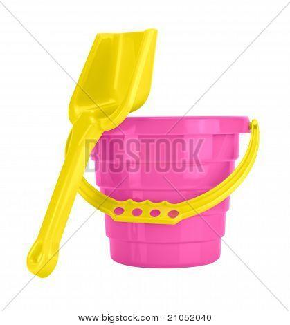 Children's Sand Bucket And Shovel