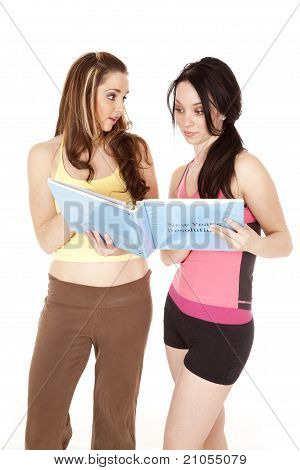 Women With Folder