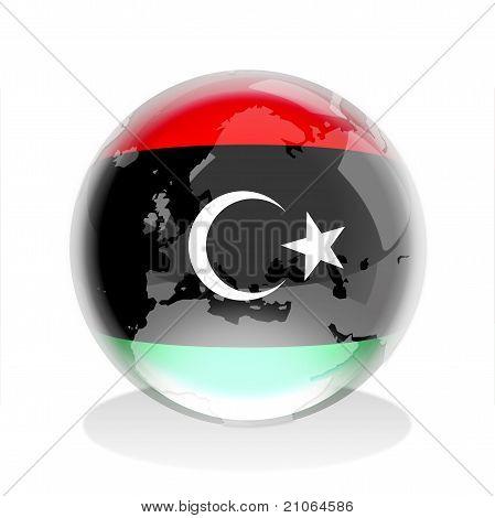 Crystal Sphere_Libya