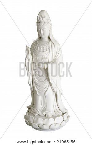 white bodhisattva