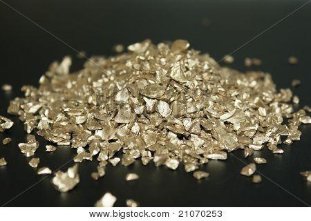 Gold Polyamide Background