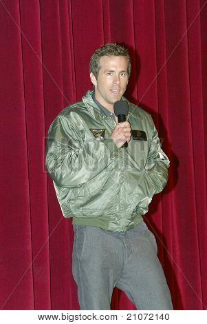 SAN DIEGO - JUNE 16: Ryan Reynolds arrives at a screening of