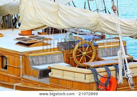 Sail Ship Wheelhouse