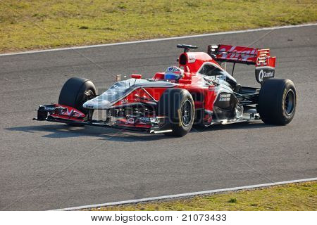 Team Virgin F1, Timo Glock, 2011